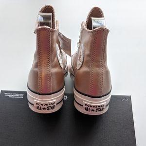 Converse Shoes - Converse CTAS Lift Hi Particle Beige/White/Black